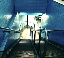 Down to the metro by fabricedeloor