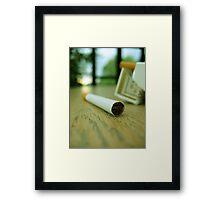 Morning Drug Framed Print