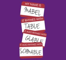 My Name Is Mabel T-Shirt