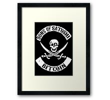 Sons of Satoshi Bitcoin Geek Framed Print