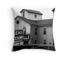 Lehi Roller Mills Throw Pillow