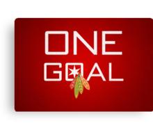 One Goal Canvas Print