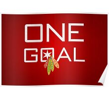 One Goal Poster