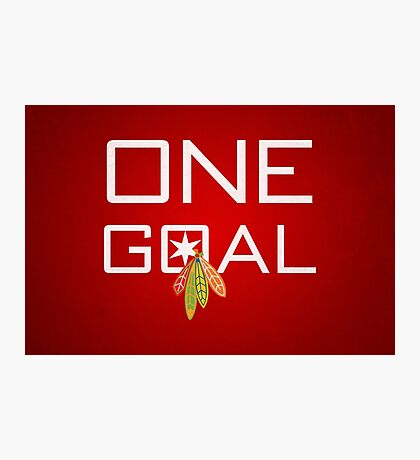 One Goal Photographic Print