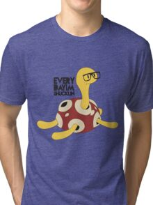 Everyday I'm Shucklin Tri-blend T-Shirt