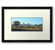 Warrambungle Dreaming- Warrambungles National Park  NSW , Australia Framed Print