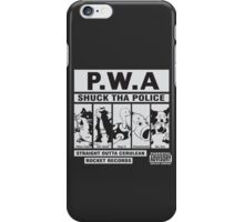 Shuck Tha Police iPhone Case/Skin