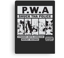 Shuck Tha Police Canvas Print
