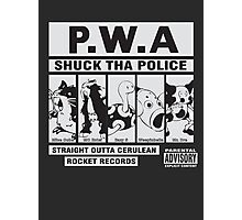 Shuck Tha Police Photographic Print