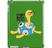 Everyday I'm Shucklin' Shiny Version iPad Case/Skin