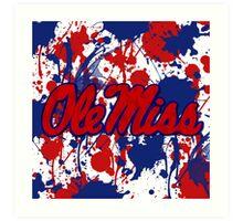 Ole Miss! Art Print