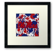 Ole Miss! Framed Print