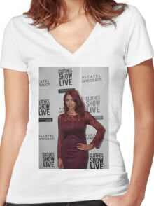 Amy Childs Women's Fitted V-Neck T-Shirt