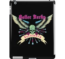 Roller Derby Infirmary (Now In Full Color!) iPad Case/Skin