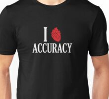 I Heart Accuracy Unisex T-Shirt