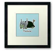 Thortoise Framed Print