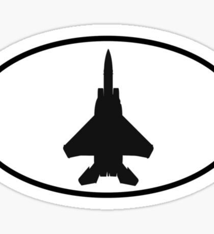 McDonnell Douglas F-15 Eagle (top) Sticker