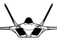 Lockheed Martin F-22A Raptor (front) Sticker