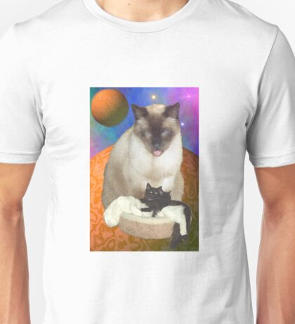 Cats in Space 8 Unisex T-Shirt
