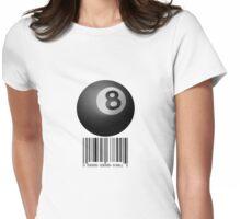 8-Ball (light) Womens Fitted T-Shirt