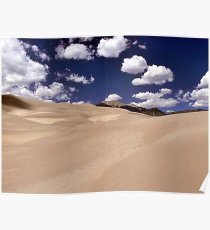 Colorado Sand Dunes Poster