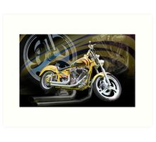 Custom Cruiser Art Print