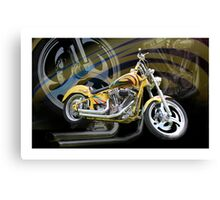 Custom Cruiser Canvas Print