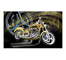 Custom Cruiser Photographic Print