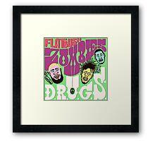 FLATBUSH ZOMBIE DRUGS Framed Print