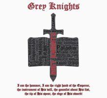 Grey Knights 2, Warhammer 40K by ZsaMo