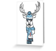 Winter Deer  Greeting Card