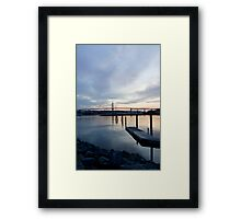 Halifax Waterfront Framed Print