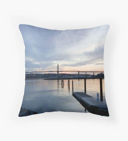 Halifax Waterfront Throw Pillow