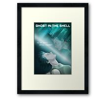 Ghost in the Shell - fan poster Framed Print