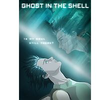 Ghost in the Shell - fan poster Photographic Print