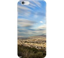 Abstract sky over Athens iPhone Case/Skin