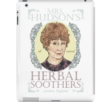 Mrs. Hudson's Herbal Soothers iPad Case/Skin