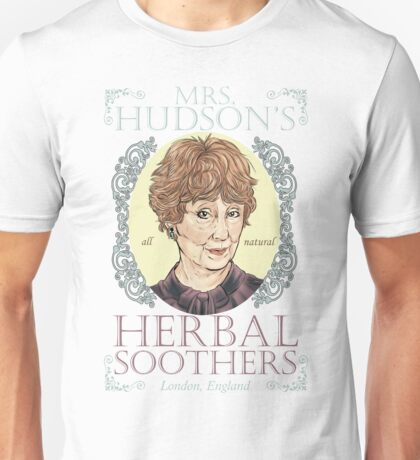 Mrs. Hudson's Herbal Soothers Unisex T-Shirt