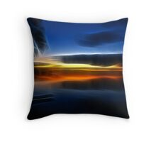 After The Sunset Throw Pillow