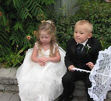 Flowergirl and Ringbearer by gypsykatz