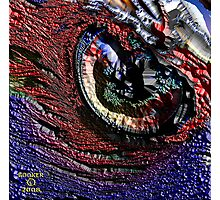THOSE CONTACT LENS Photographic Print