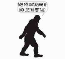 Bigfoot Costume by Almdrs
