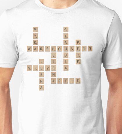 Warehouse Scrabble Unisex T-Shirt