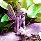 Fairies in the garden by msflip