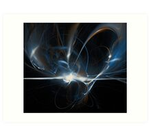 October 2008 - 3D Fractal 01 Art Print