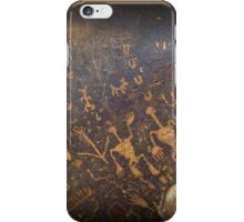 Newspaper Rock iPhone Case/Skin