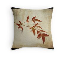 Textures of Autumn II Throw Pillow