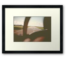 Jersey Runway Framed Print