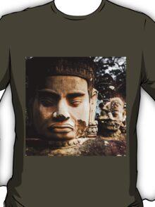 Buddhist Statues: Deva at Angkor, Cambodia T-Shirt
