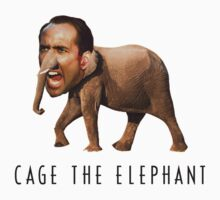Nicolas Cage The Elephant by ticklish-wizard